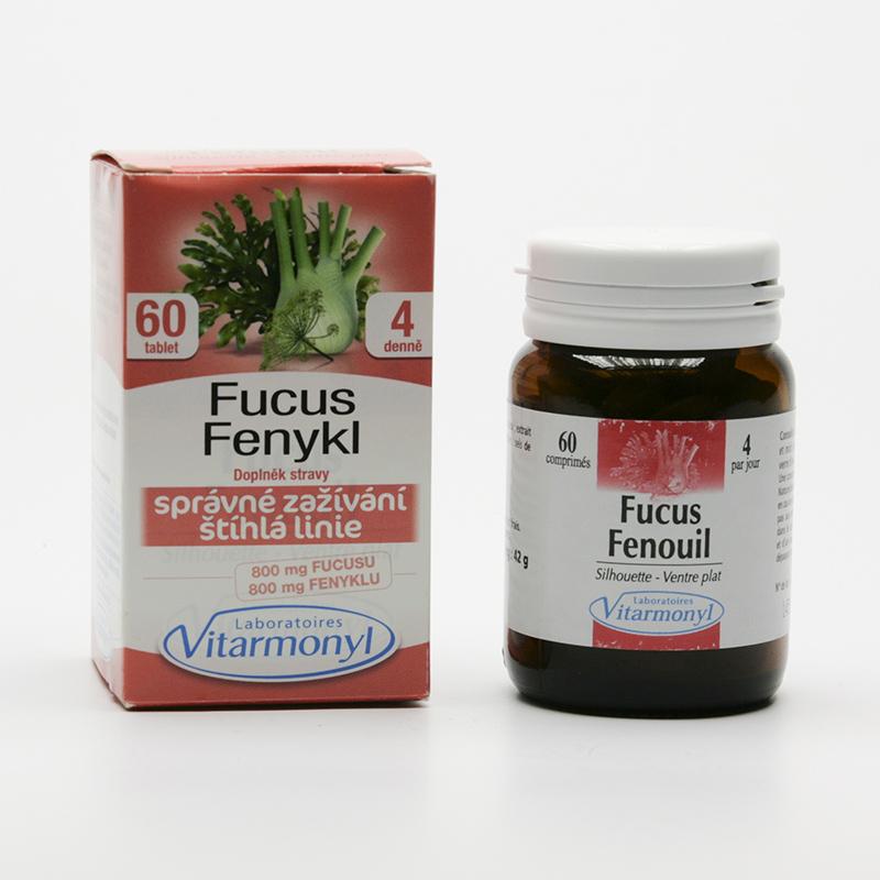 Laboratoires Vitarmonyl Fucus a fenykl 60 tablet, 42 g