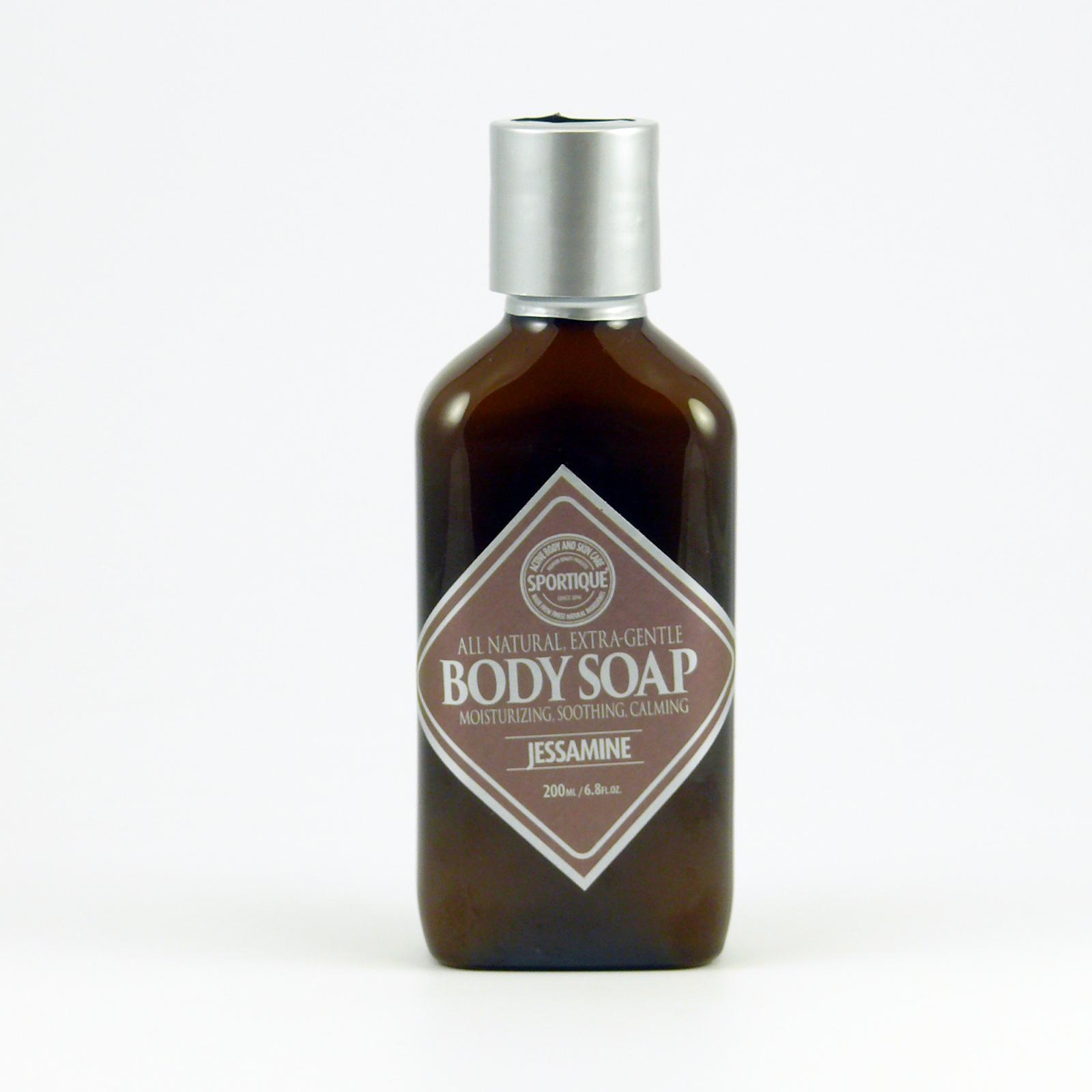 Sportique Tělové mýdlo Jasmín 200 ml