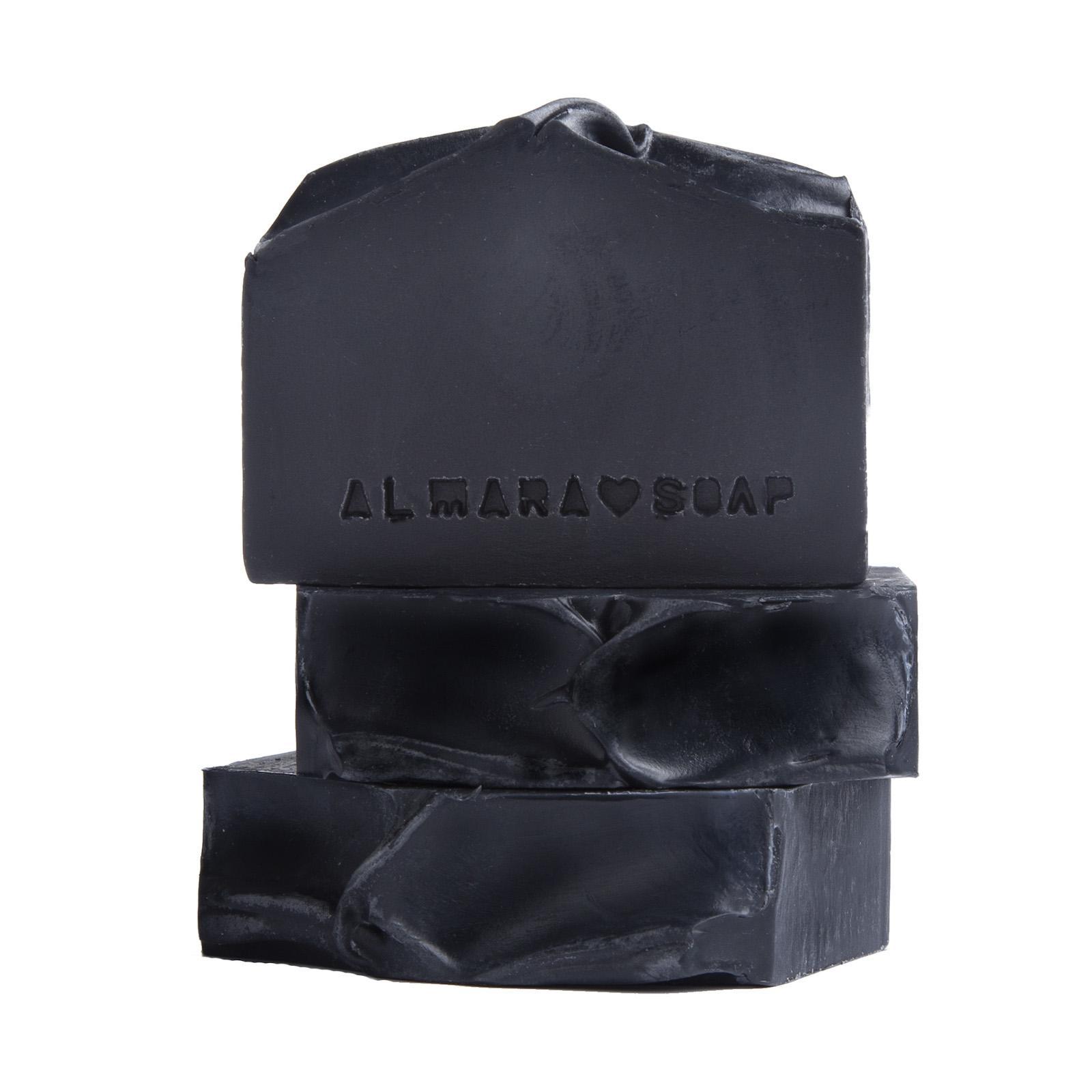 Almara Soap Mýdlo Black As My Soul 90 ± 5 g