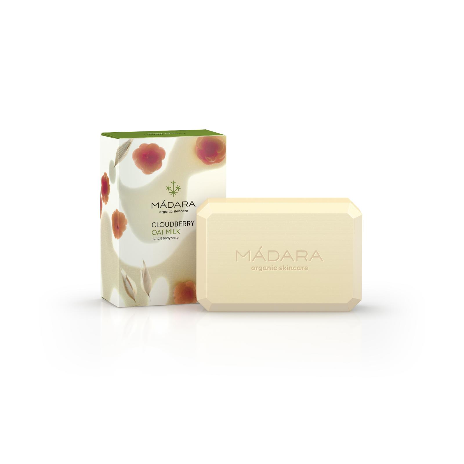 Mádara Tělové mýdlo Cloudberry & Oat Milk 150 g