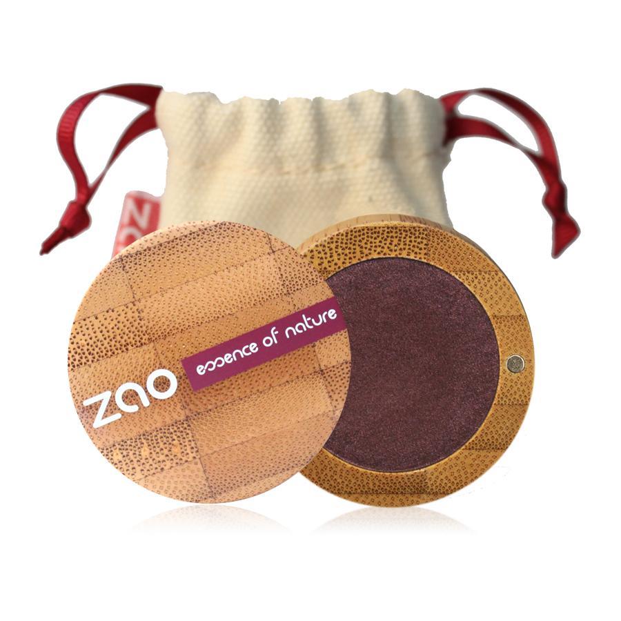ZAO Třpytivé oční stíny 118 Plum 3 g bambusový obal
