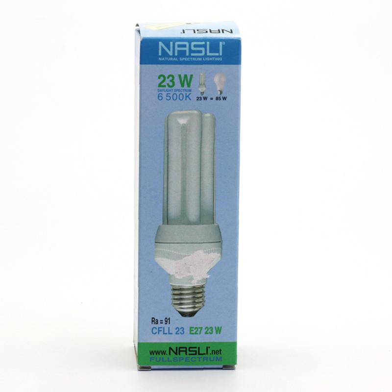 NASLI xxxVýprodej Kompaktní zářivka plnospektrální 23 W, E27, 6500 K 1 ks