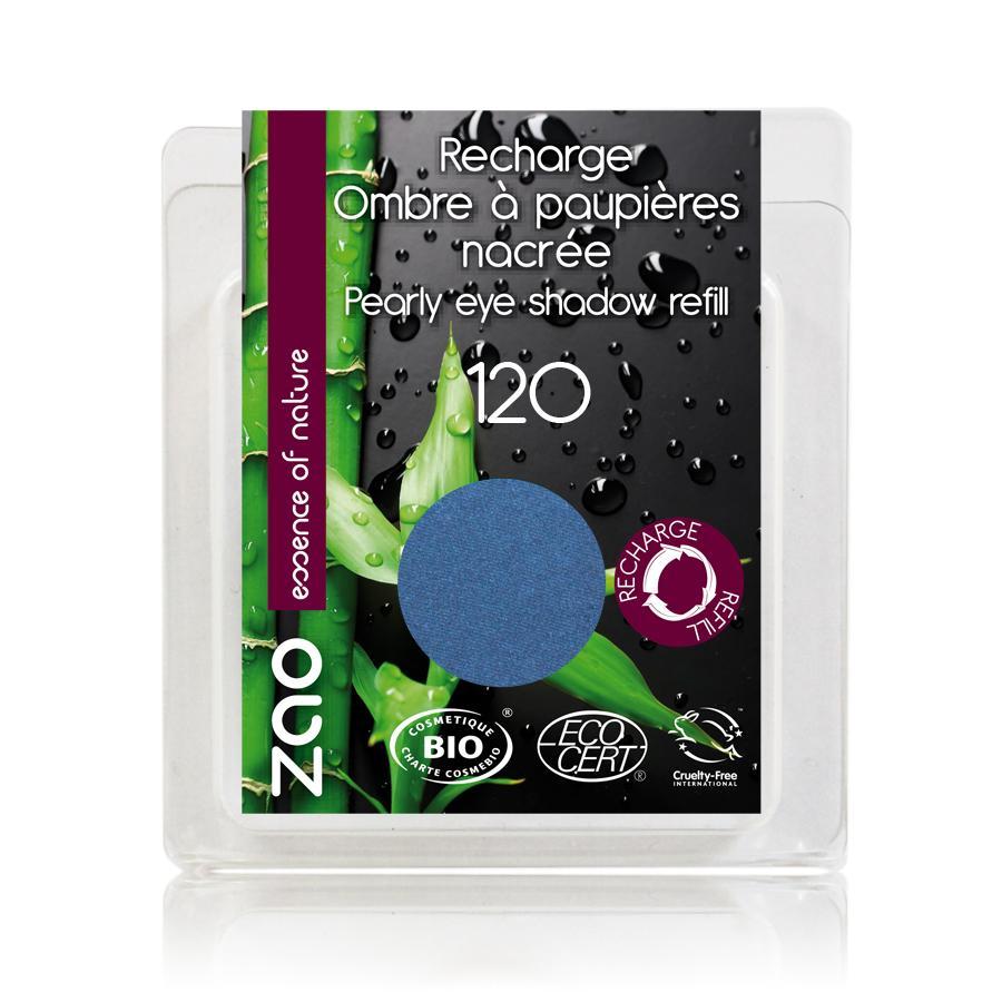 ZAO Třpytivé oční stíny 120 Royal Blue 3 g náplň