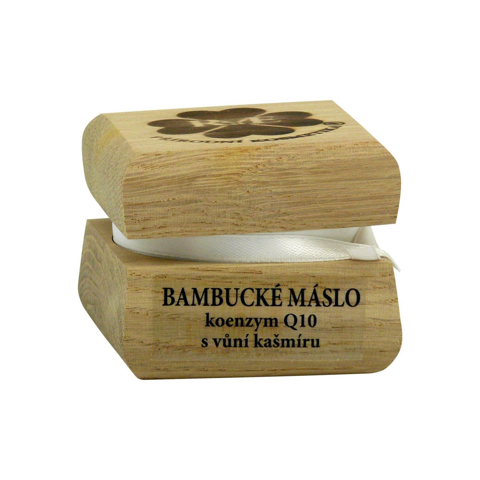 RaE Bambucké tělové máslo s koenzymem Q10 50 ml