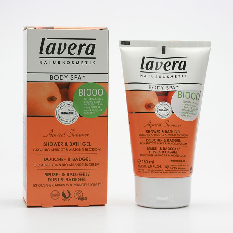 Lavera Tělové mléko meruňka a mandlový květ, Body Spa 150 ml