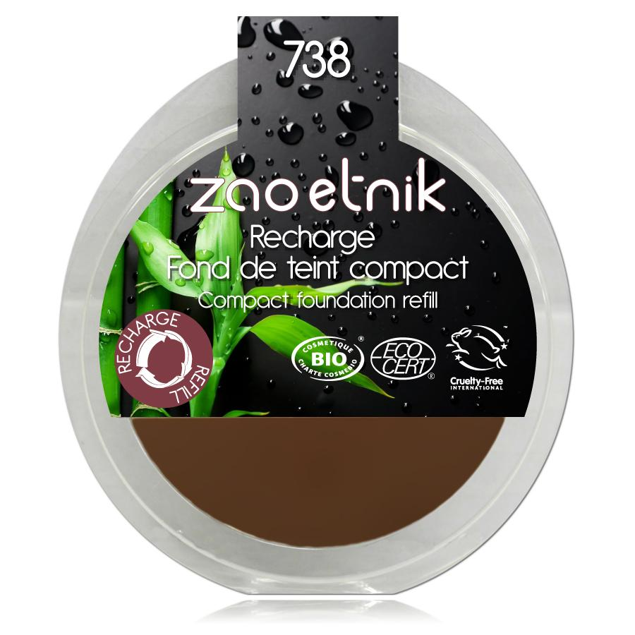 ZAO Kompaktní make-up 738 Hazelnut 6 g náplň