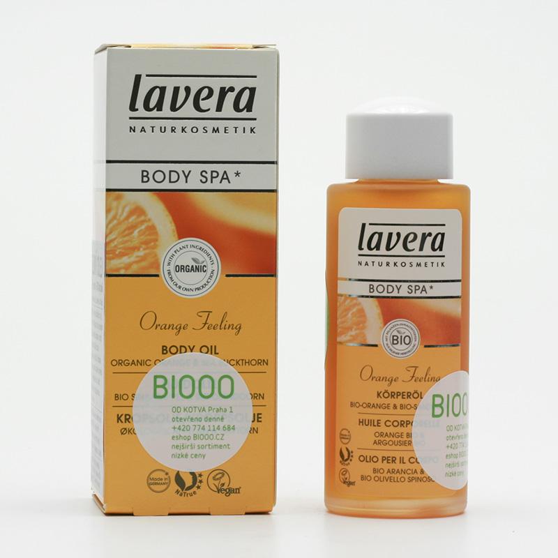 Lavera Tělový olej pomeranč a rakytník, Body Spa 50 ml