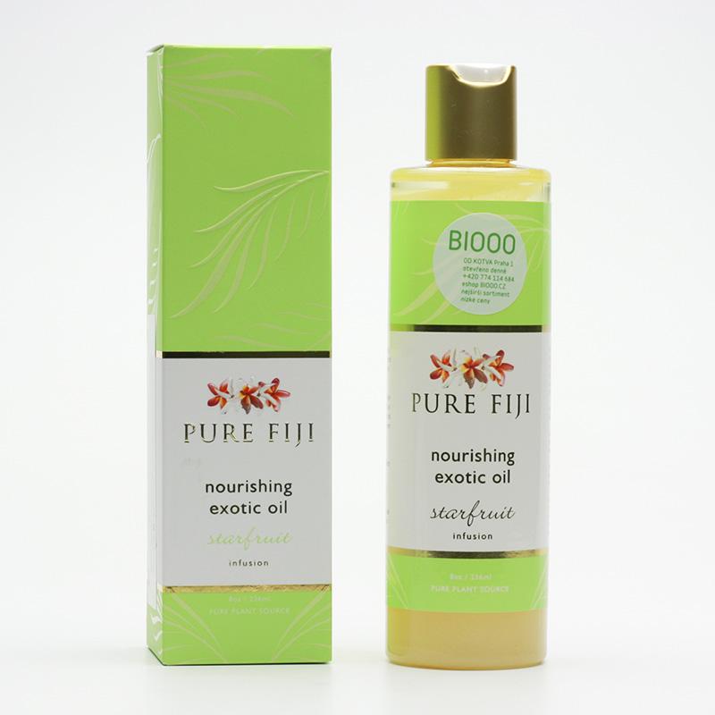 Pure Fiji Exotický masážní a koupelový olej, karambola 236 ml
