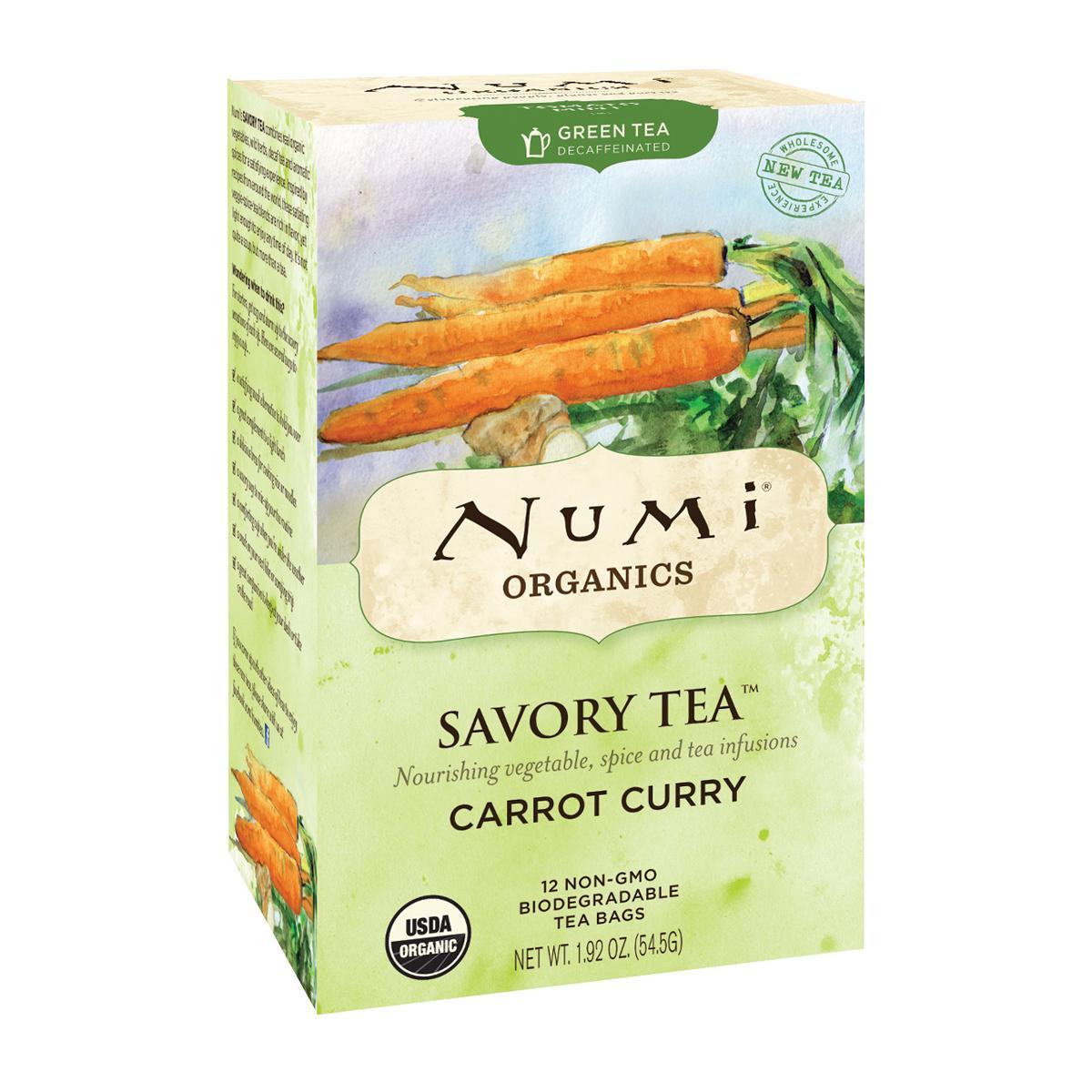 Numi Kořeněný čaj Carrot Curry, Savory Tea 12 ks, 54,5 g
