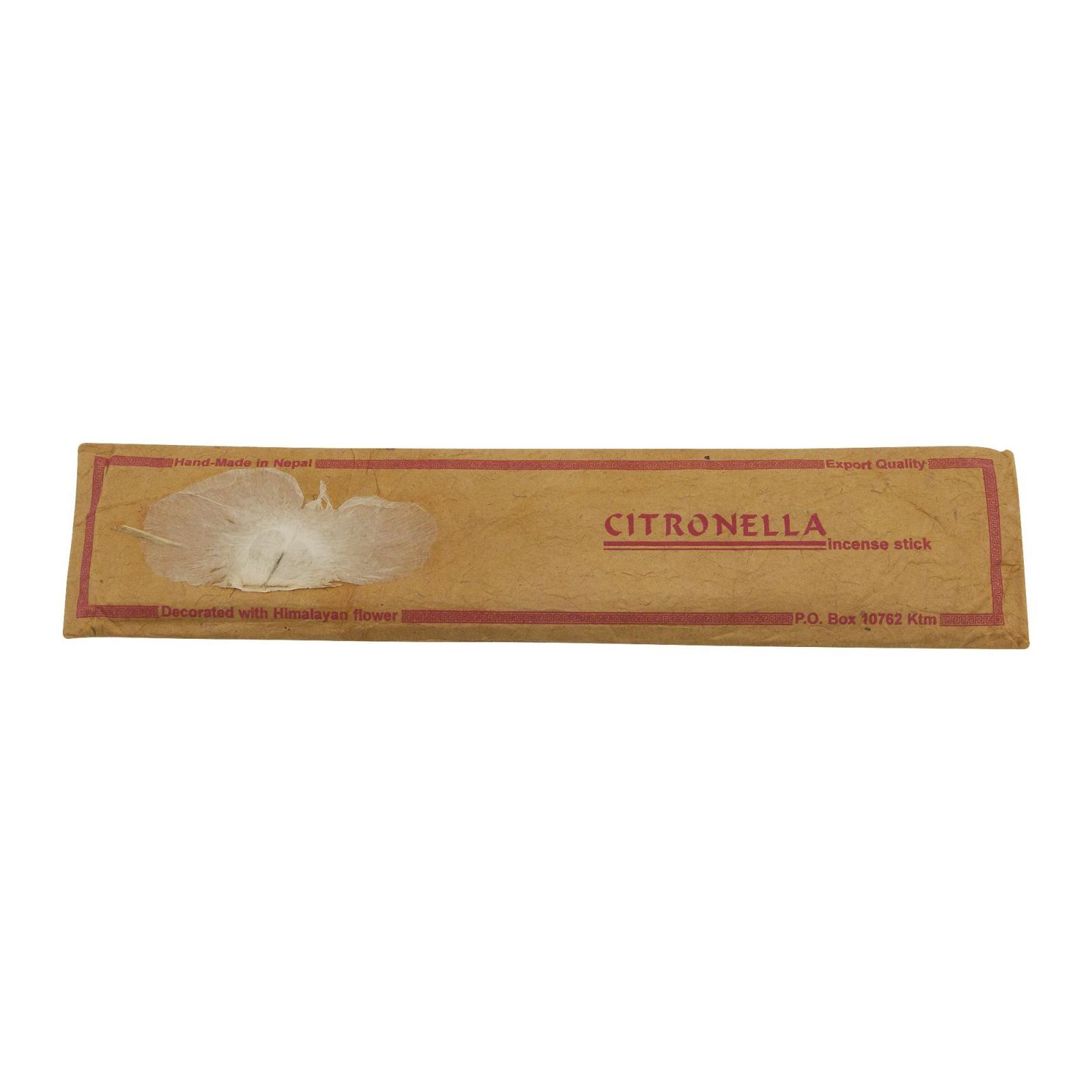 Himalayan Herbal Vonné tyčinky nepálské Citronella 15 ks