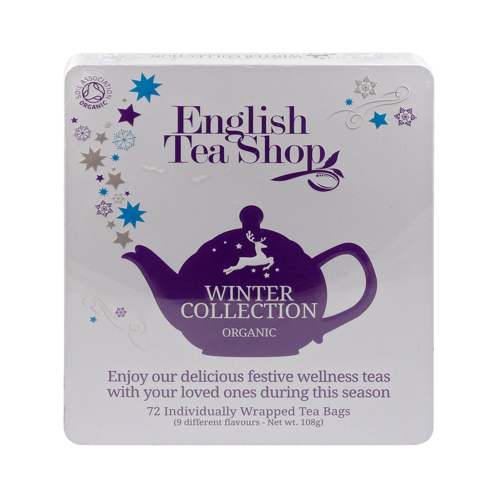 English Tea Shop Vánoční zima, plechová kazeta 72 ks, 108 g