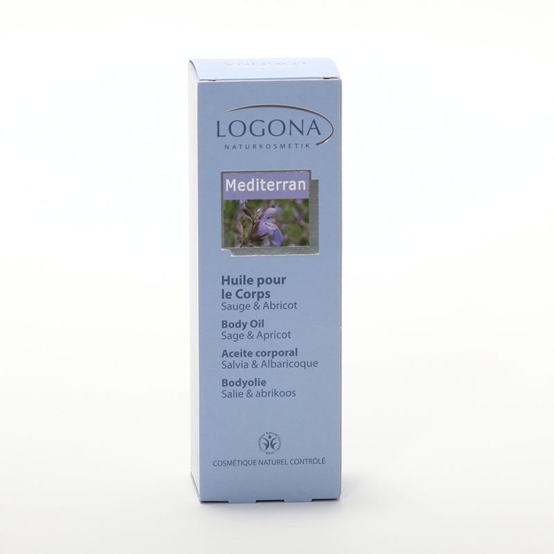 Logona Tělový olej, Mediterran - vyřazen 100 ml