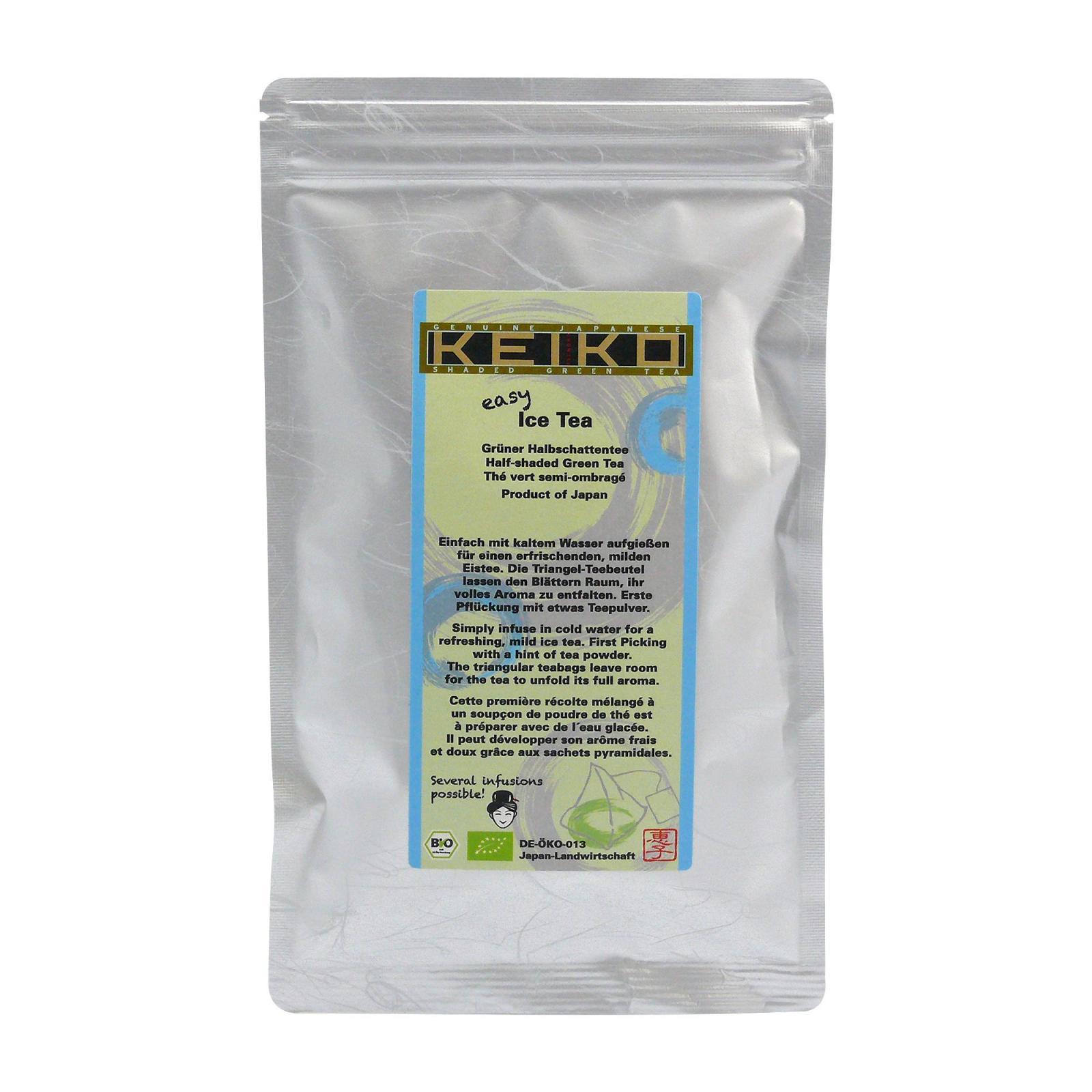 Keiko Zelený čaj Kabuse hot or cold, pyramidky, bio 48 g, 16 ks