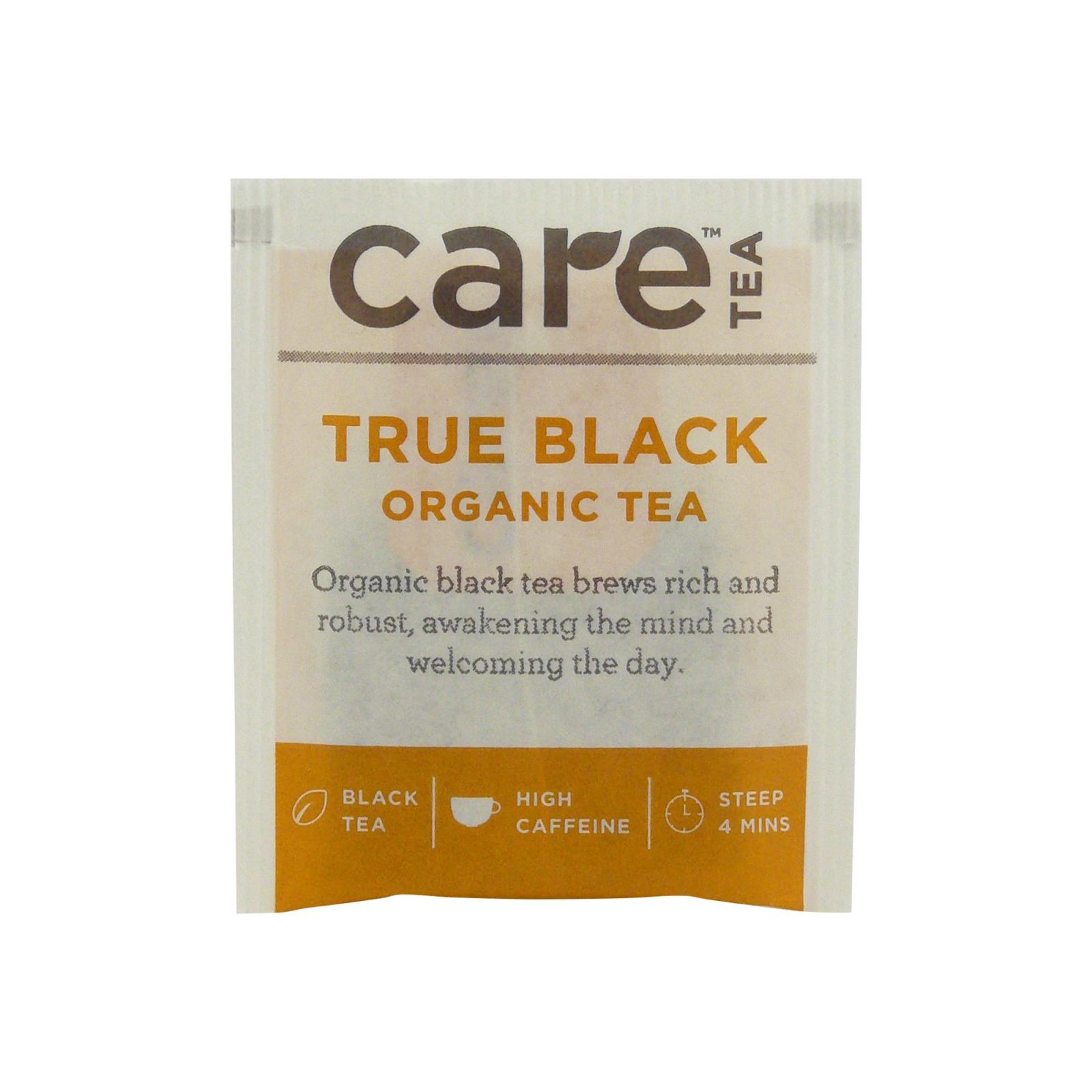 Care Tea Černý čaj True Black 1 ks, 2 g
