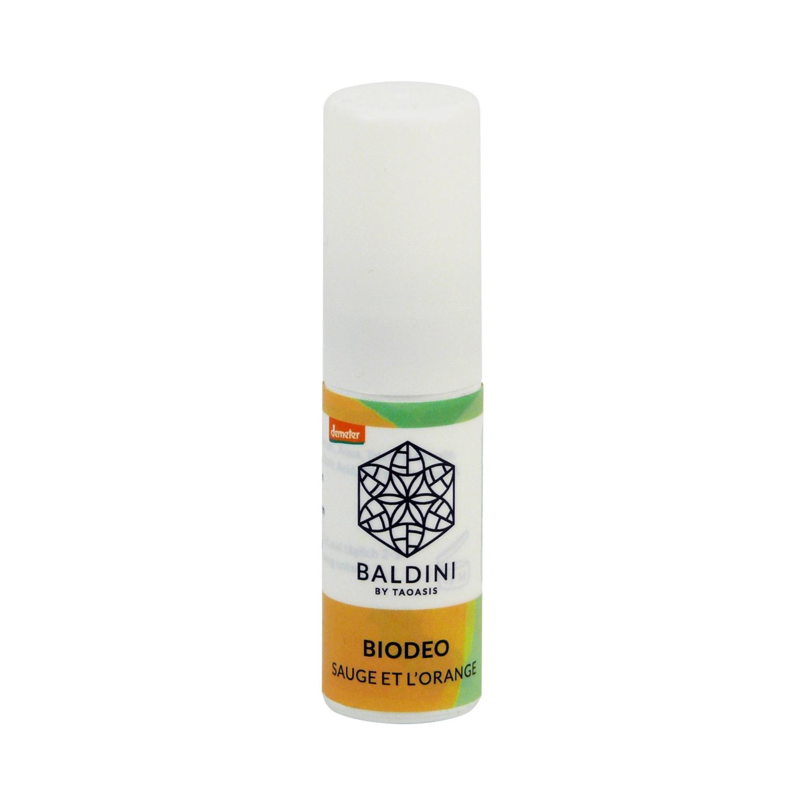 Taoasis Deodorant sprej Sauge et L´Orange, Baldini 10 ml