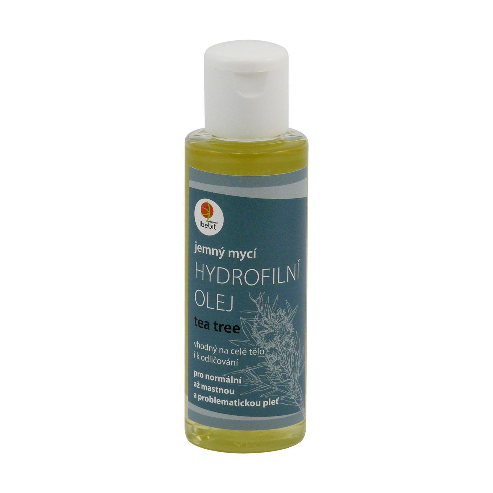 Libebit Hydrofilní mycí olej tea tree 120 ml
