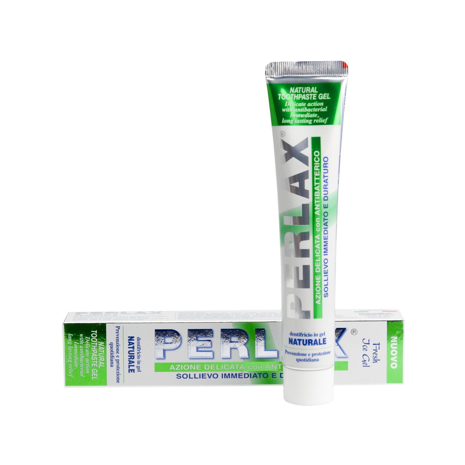 PERLAX Zubní gel na citlivé zuby s Aloe Vera, Profi Line 75 ml