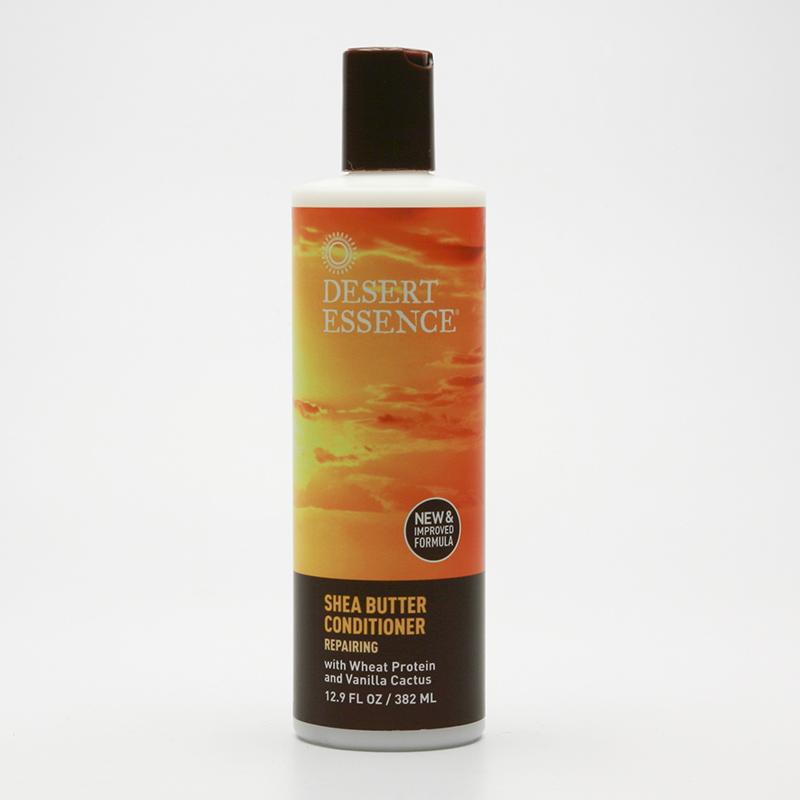 Desert Essence Kondicioner regenerační s keratinem a bambuckým máslem 382 ml