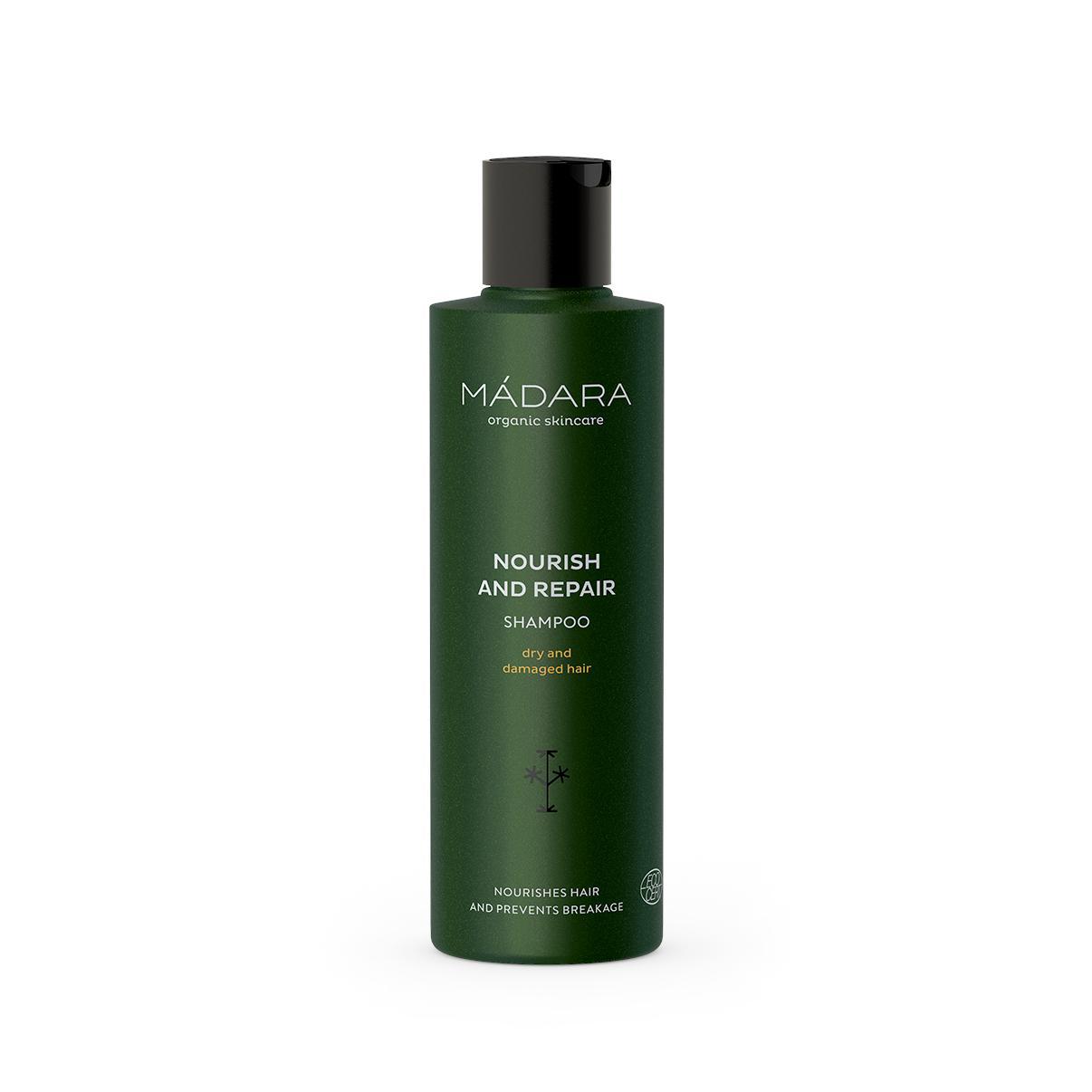 MÁDARA Šampon pro suché a poškozené vlasy 250 ml