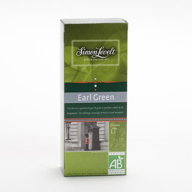 Simon Levelt Zelený čaj Earl Green 22 ks, 38,5 g
