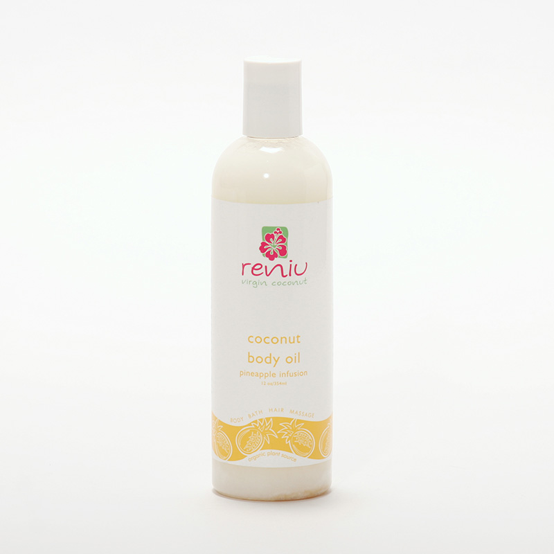 Reniu Fiji Kokosový olej extra panenský, ananas 354 ml