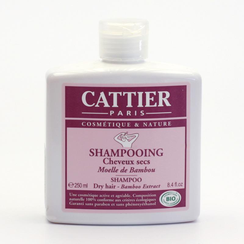 Cattier Šampon na suché vlasy s extraktem z bambusu 250 ml