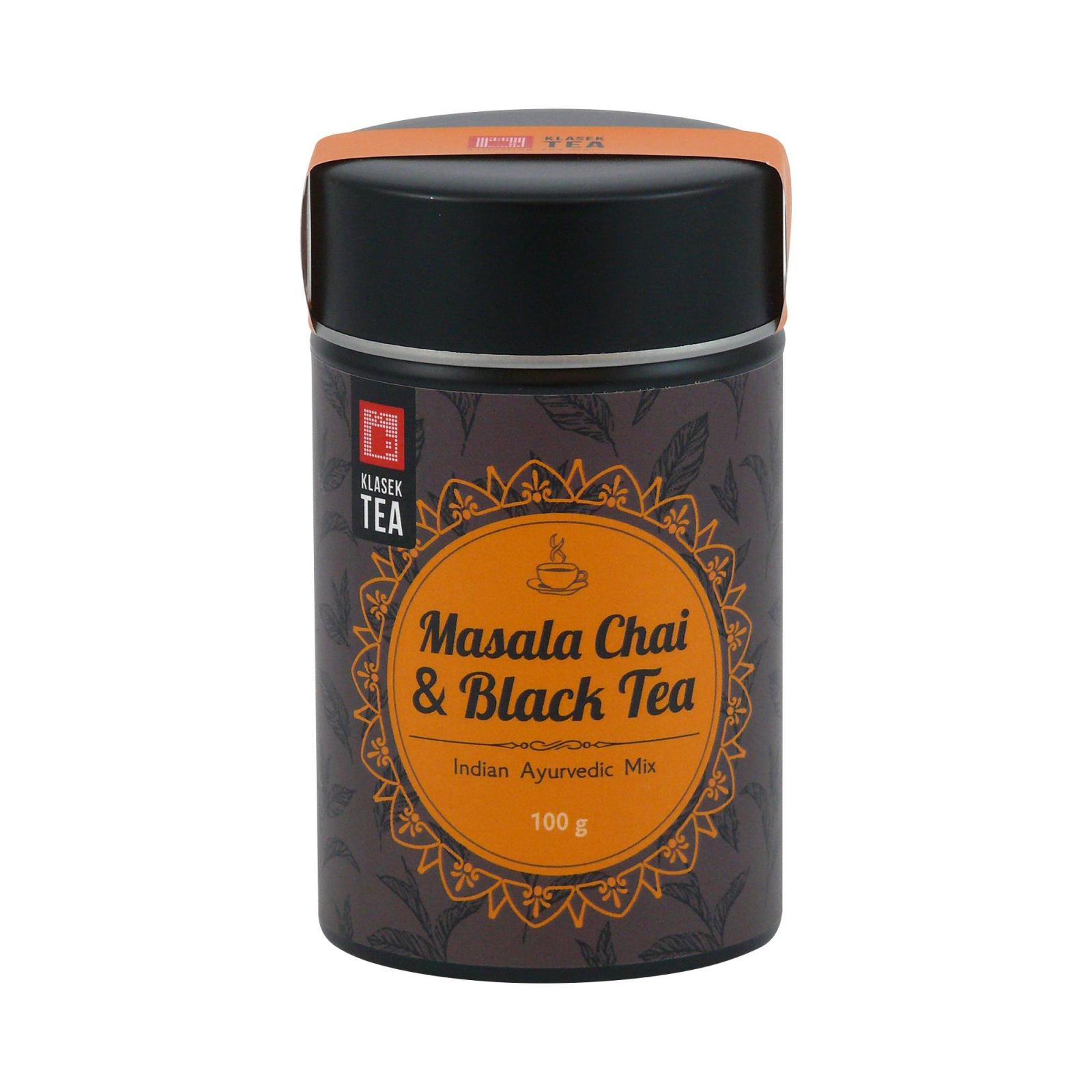 Keiko Černý čaj Masala, kovová dóza 100 g