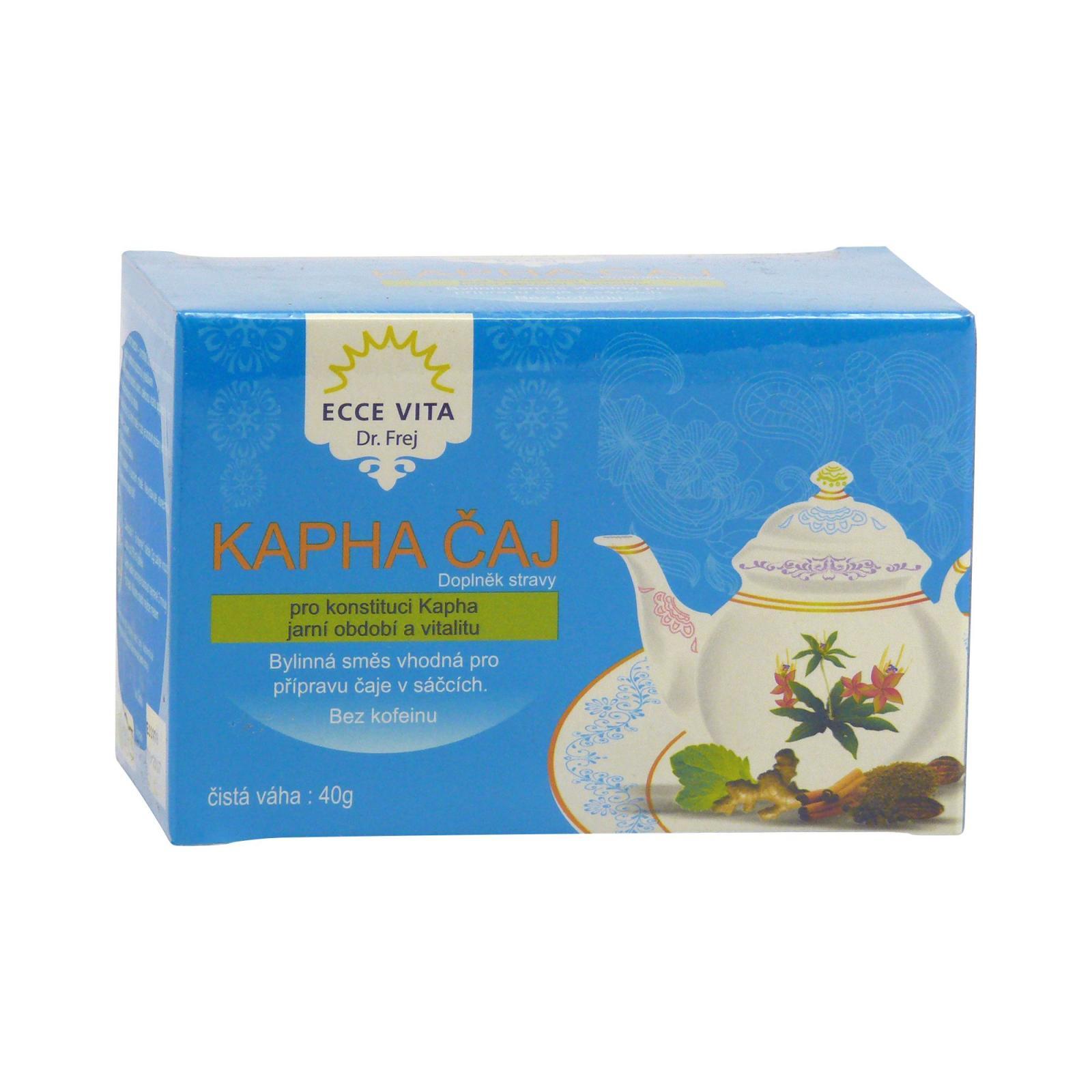 Ecce Vita Kapha čaj, pro jaro, dýchací systém a vitalitu 20 ks, 40 g