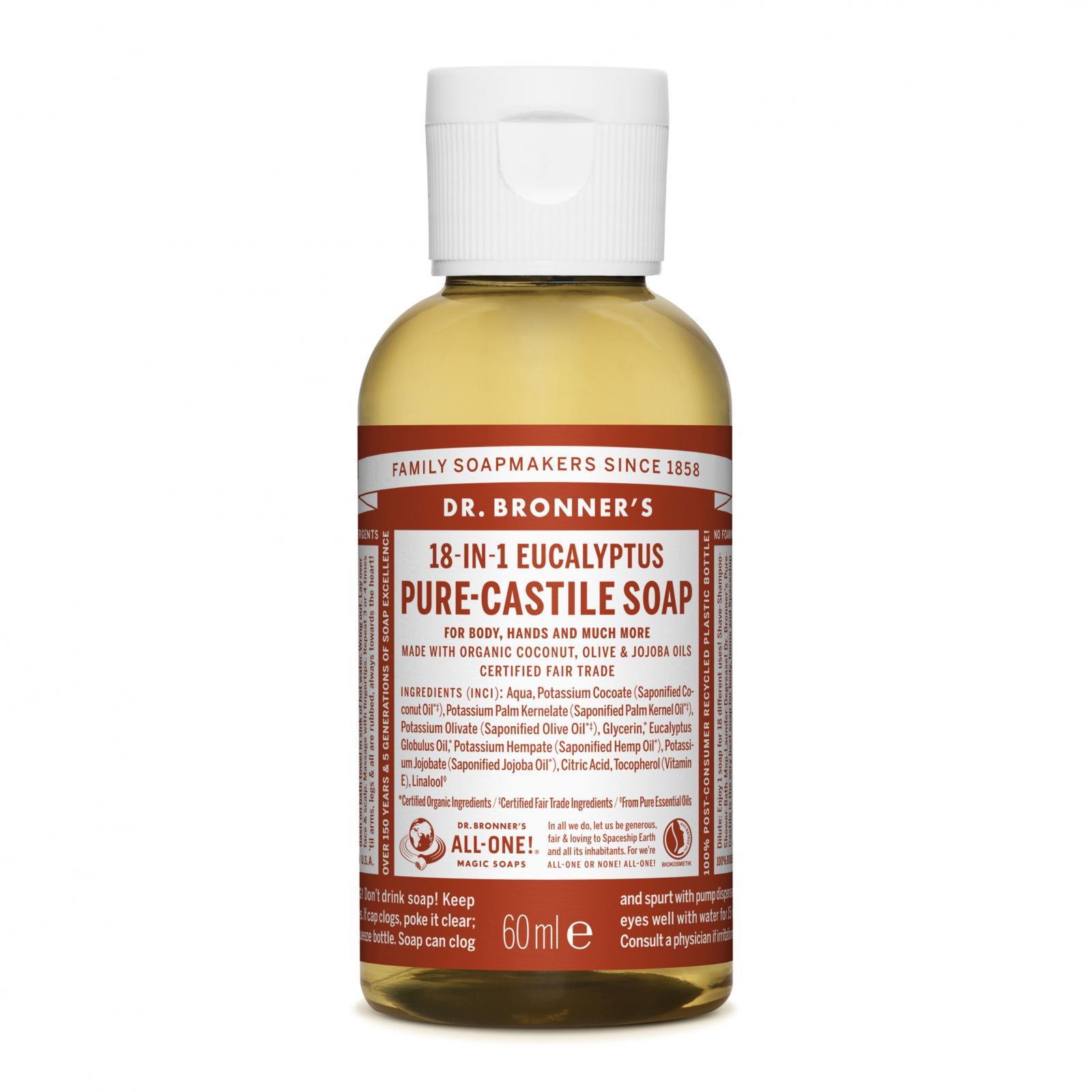 Dr. Bronner´s Tekuté universální mýdlo ALL-ONE!, Eukalyptus 59 ml