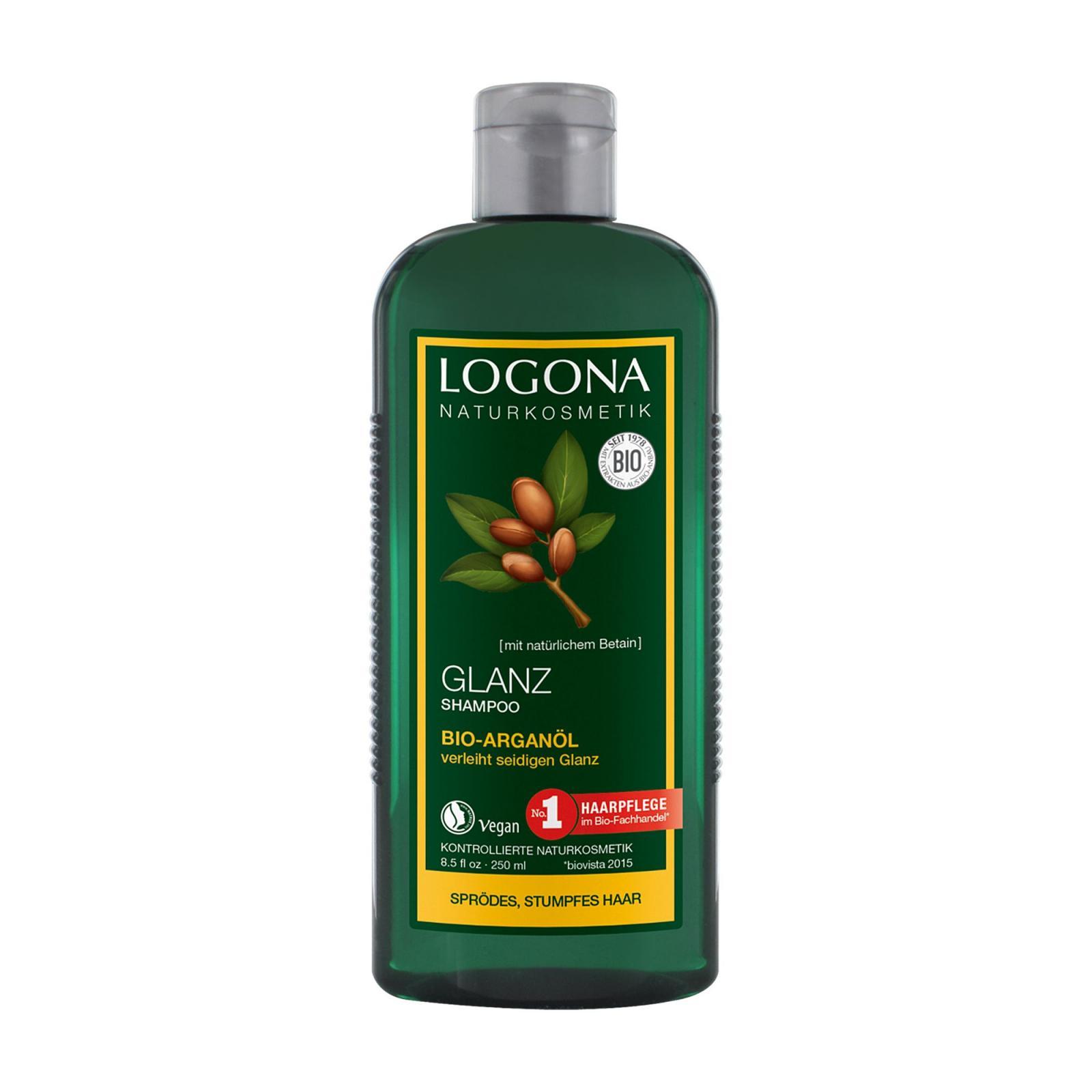 Logona Šampon na lesk, Bio Argan 250 ml