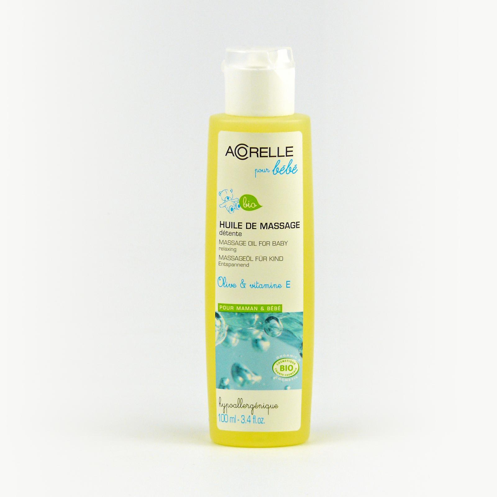 Acorelle Dětský masážní olej 100 ml