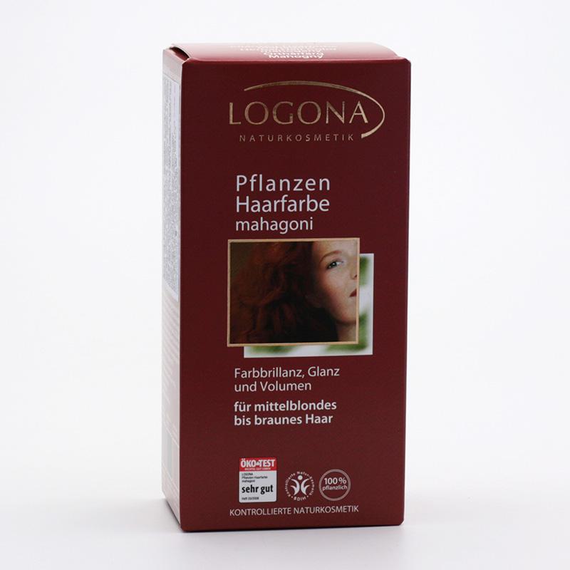 Logona Barva na vlasy, henna mahagon 100 g