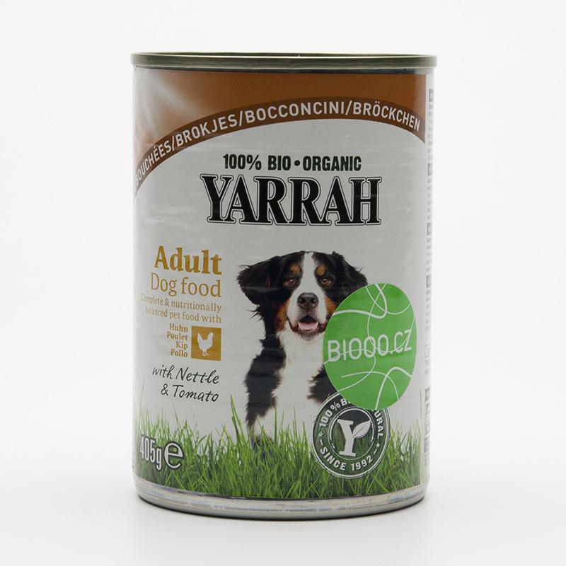 Yarrah Kousky kuřecí pro psy 405 g