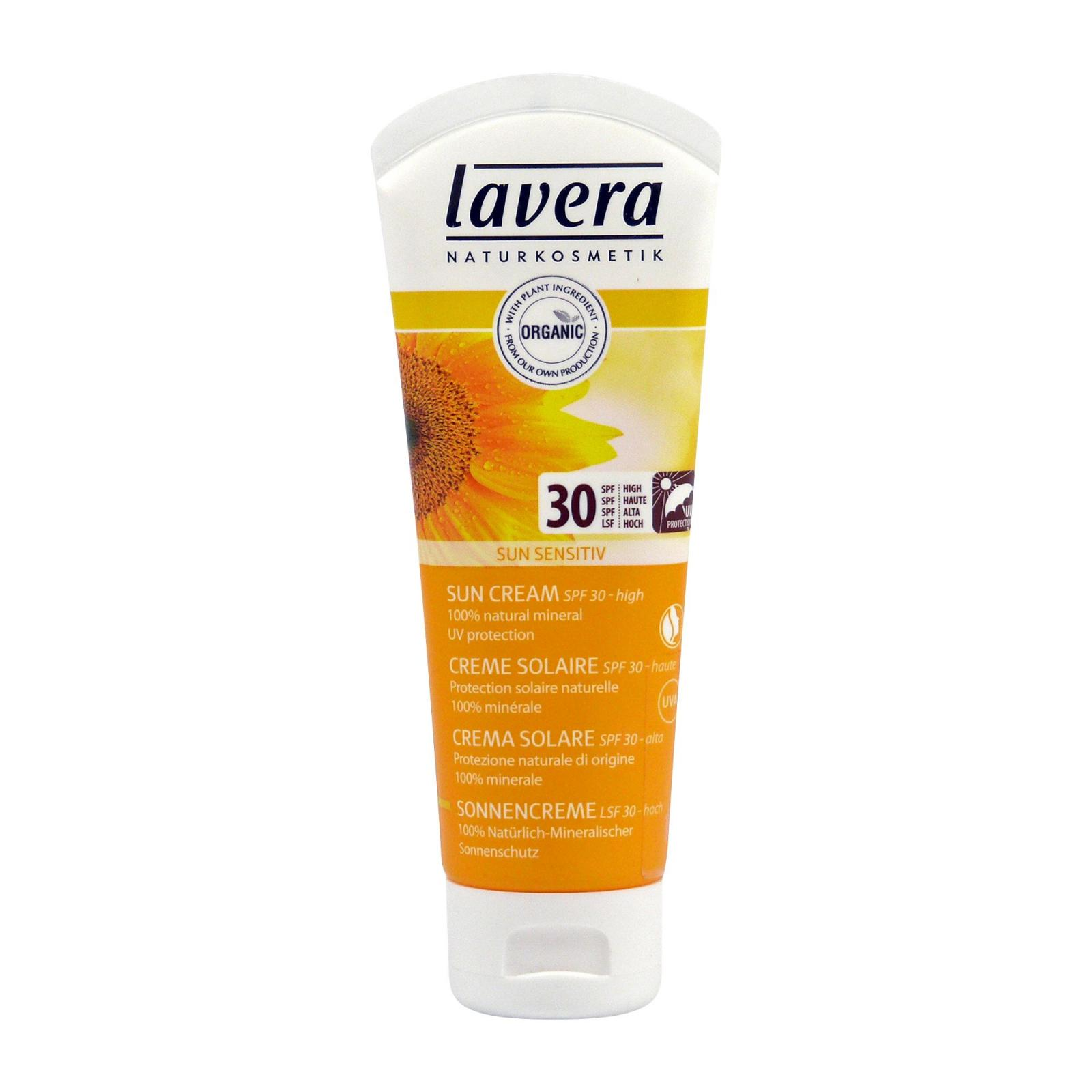 Lavera Krém opalovací soft SPF 30, Sun Sensitive 75 ml