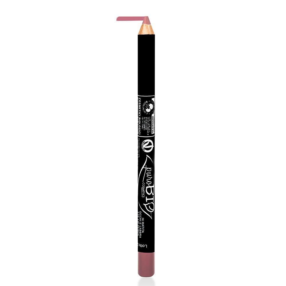 puroBIO cosmetics Tužka na oči a rty 08 Pink 1,3 g