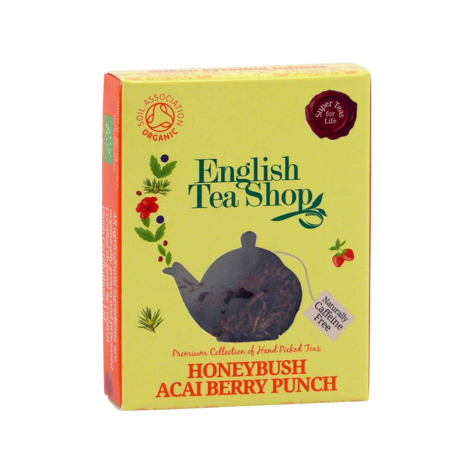 English Tea Shop Rooibos, punč s medovým květem a acai 2 g, 1 ks