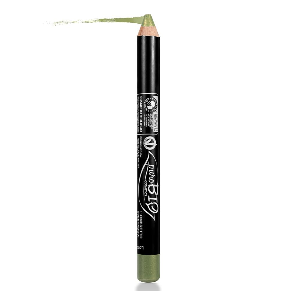 puroBIO cosmetics Oční stíny v tužce 13 Grass Green 2,3 g