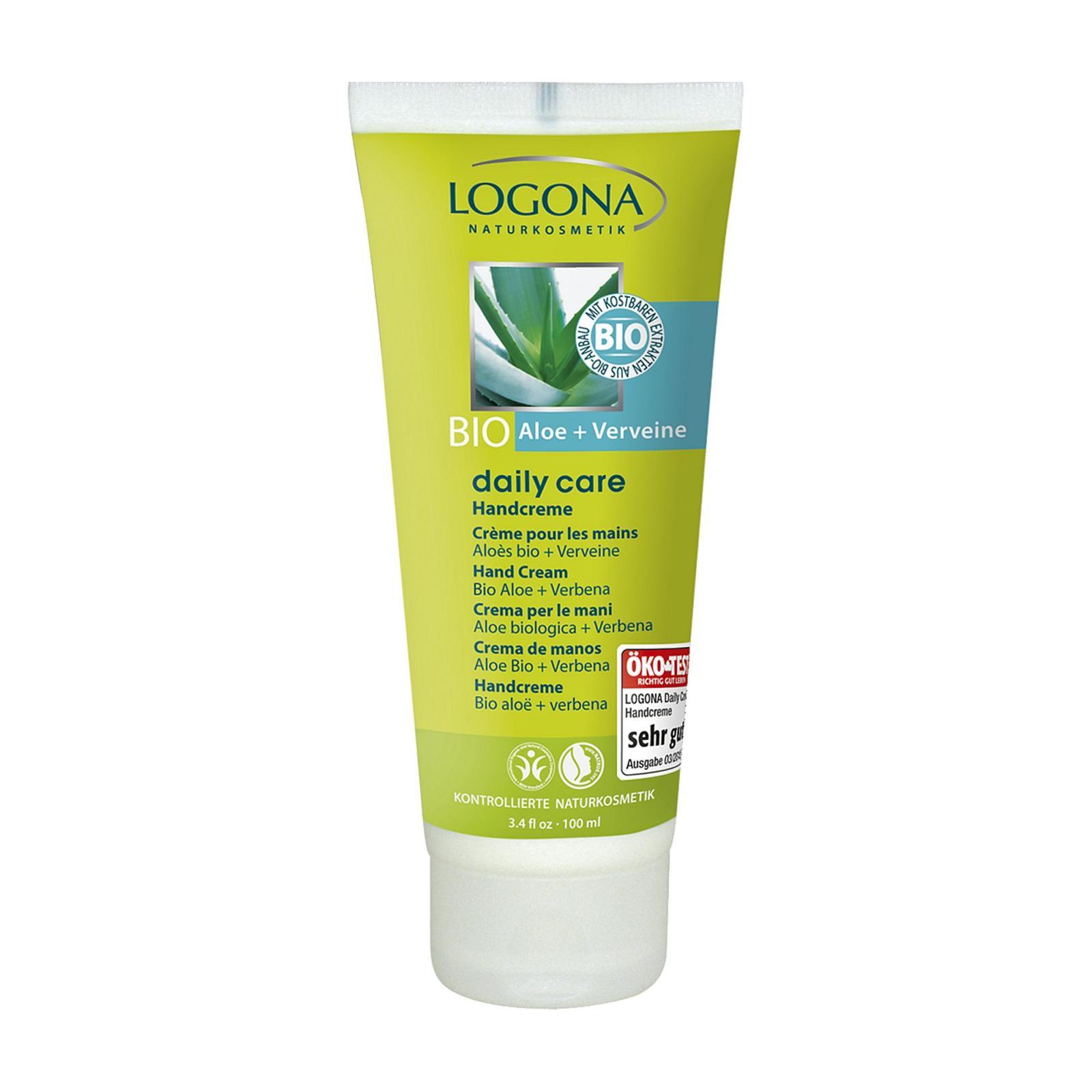 Logona Krém na ruce Bio Aloe a Verbena 100 ml