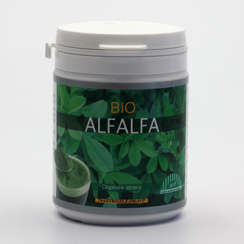 Nástroje Zdraví Alfalfa bio, prášek 80 g