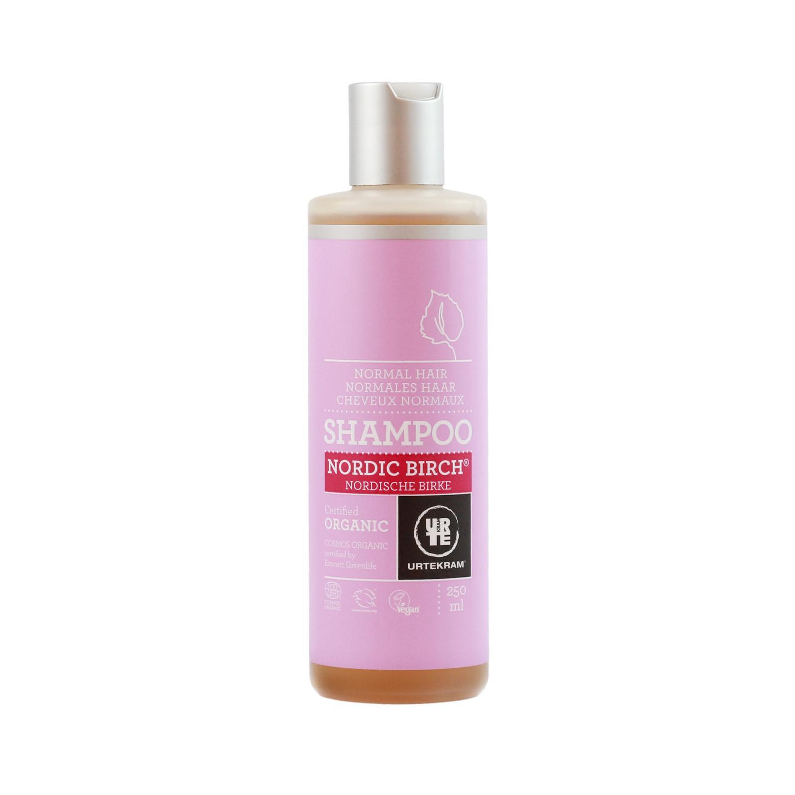 Urtekram Šampon na normální vlasy, Severská bříza 250 ml