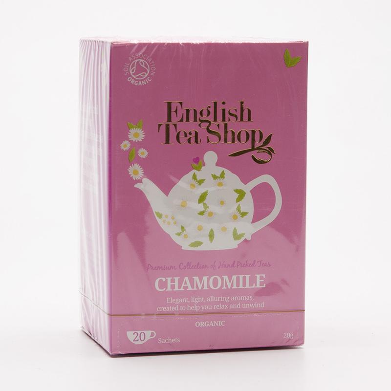 English Tea Shop Čaj heřmánek, bio 20 g, 20 ks