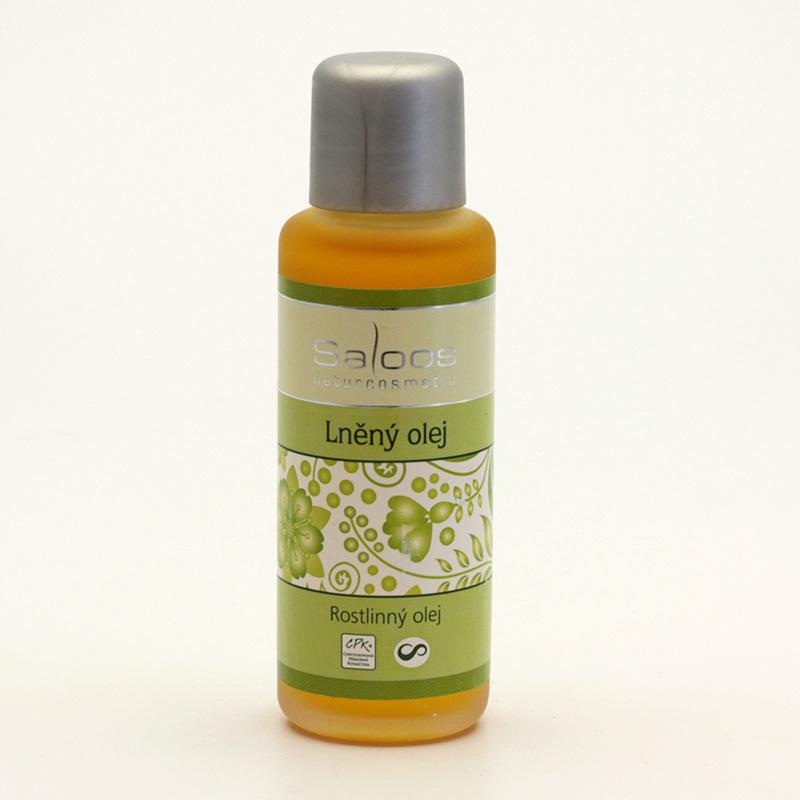Saloos Lněný olej 50 ml