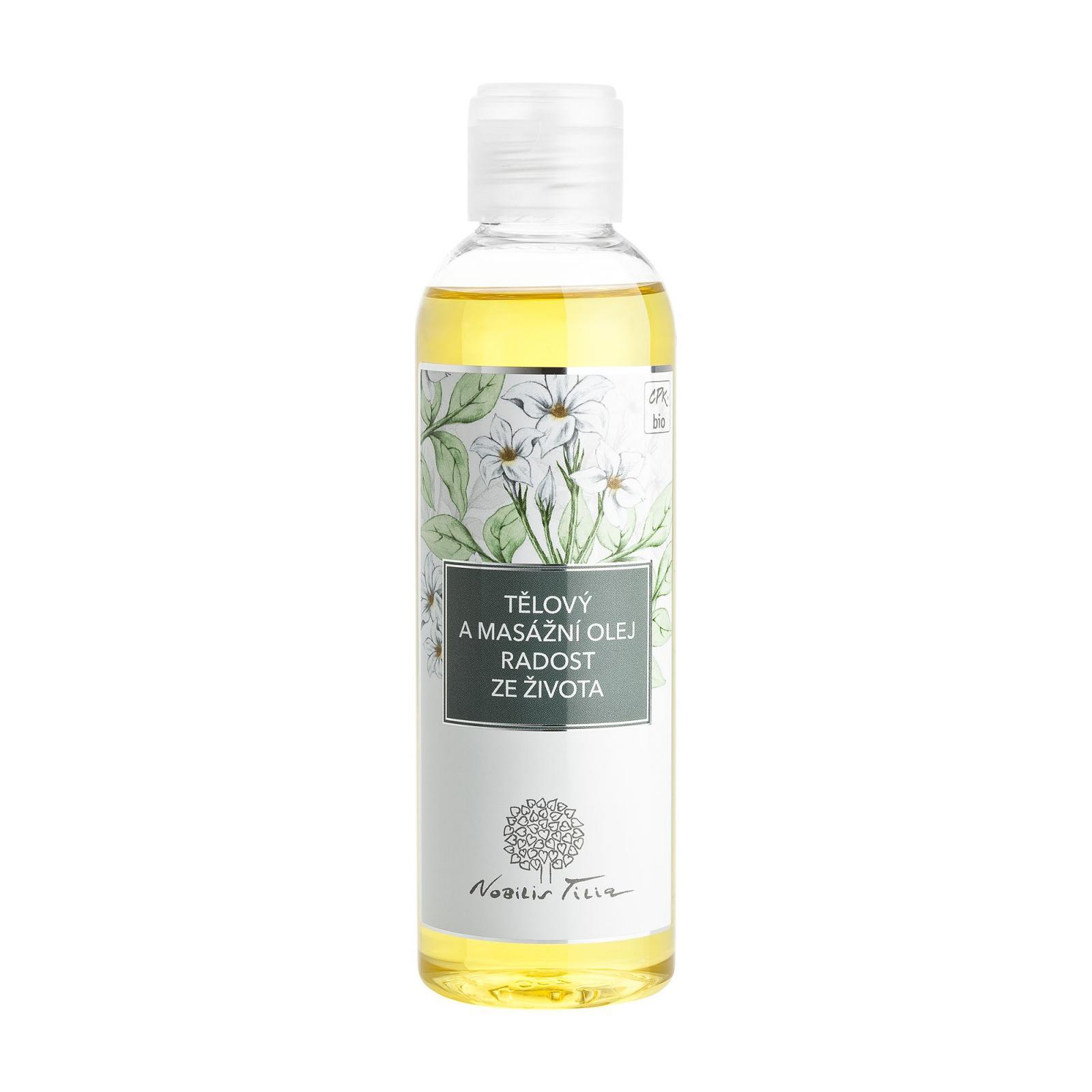 Nobilis Tilia Tělový a masážní olej Radost ze života 200 ml