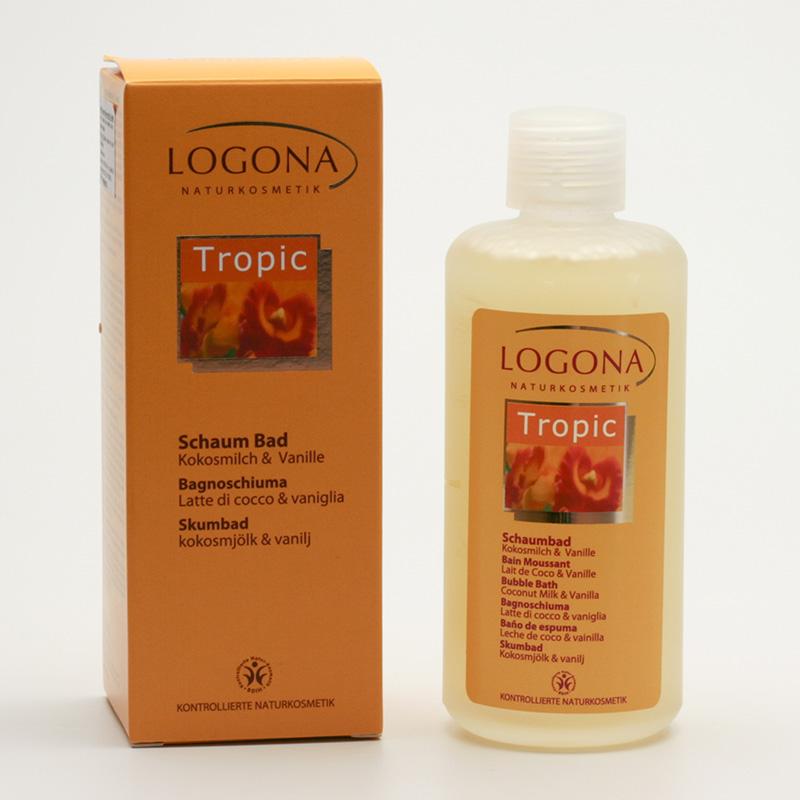 Logona Pěna do koupele, Tropic - vyřazen 200 ml