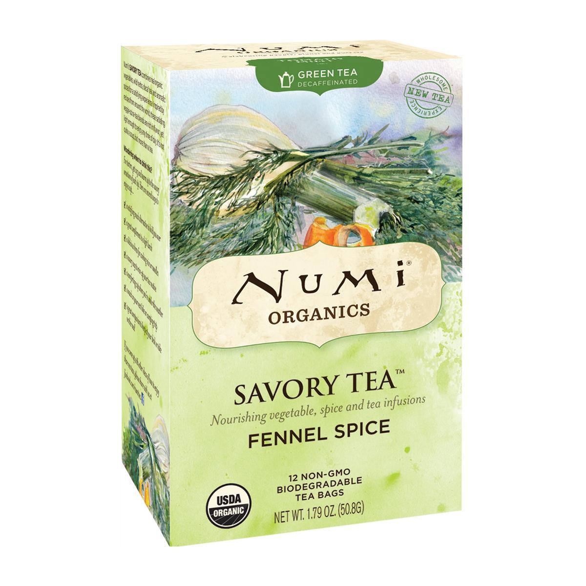 Numi Kořeněný čaj Fennel Spice, Savory Tea 12 ks, 50,8 g