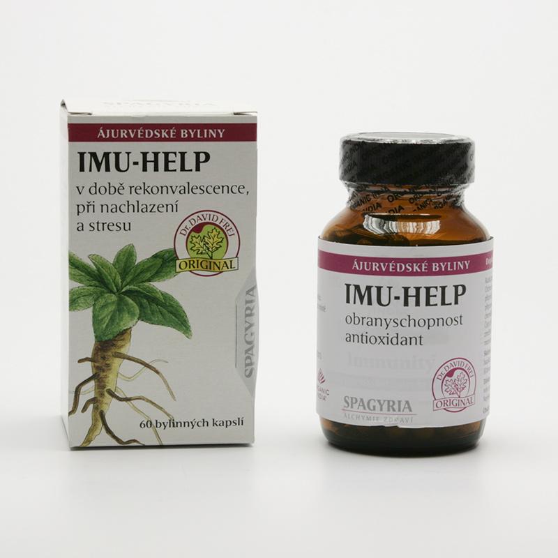 Spagyria Imu-help, kapsle 60 kapslí