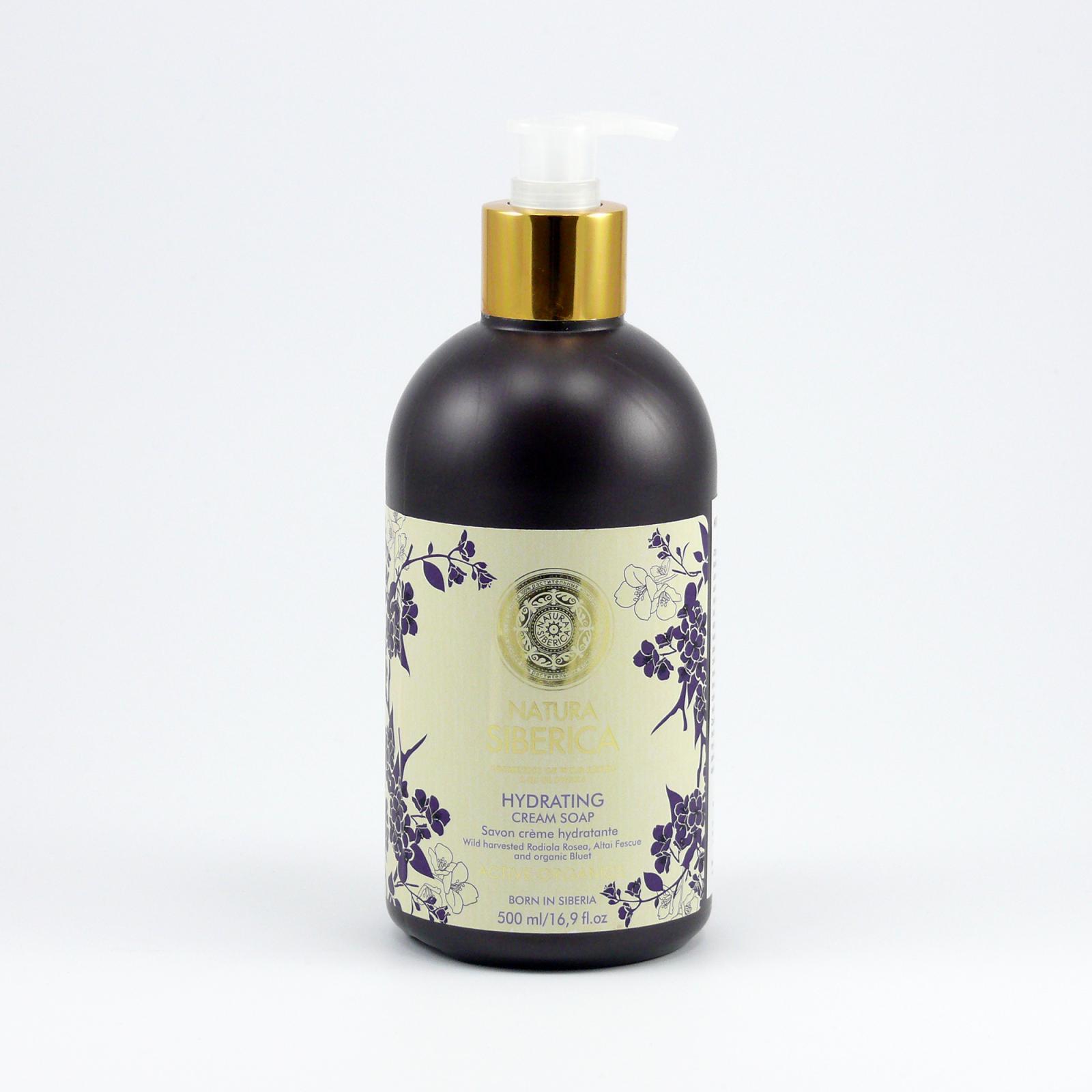 Natura Siberica Krémové mýdlo Zvlhčující 500 ml