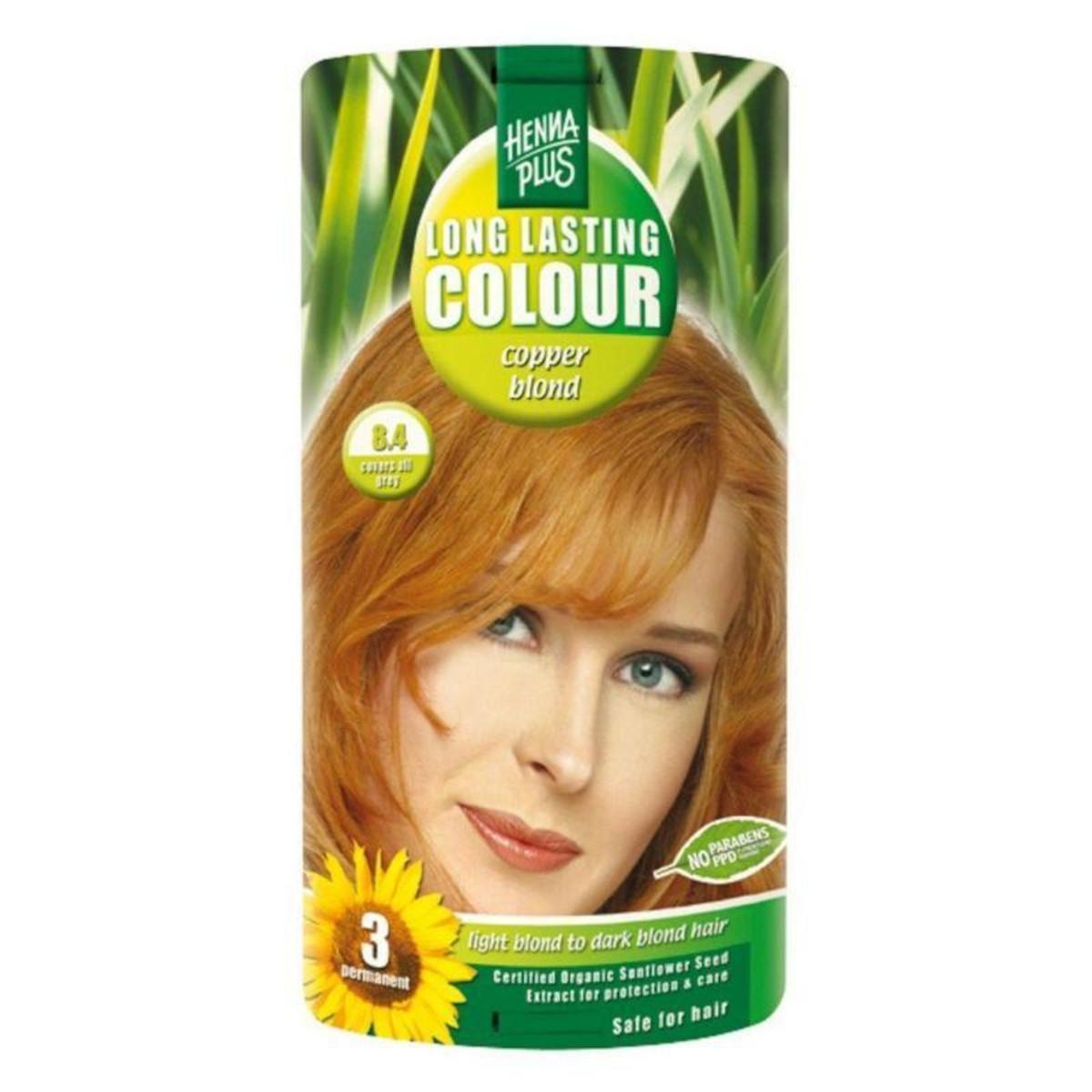 Biooo Cz Henna Plus Dlouhotrvajici Barva Medena Blond 8 4 100 Ml