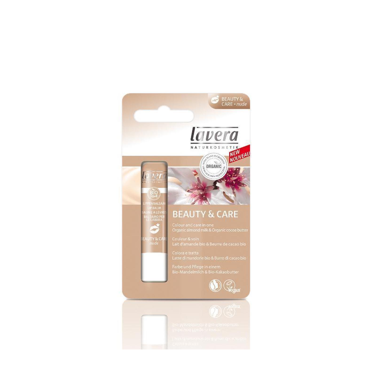 Lavera Balzám na rty Beauty & Care tělová, Lips 2014 4,5 g