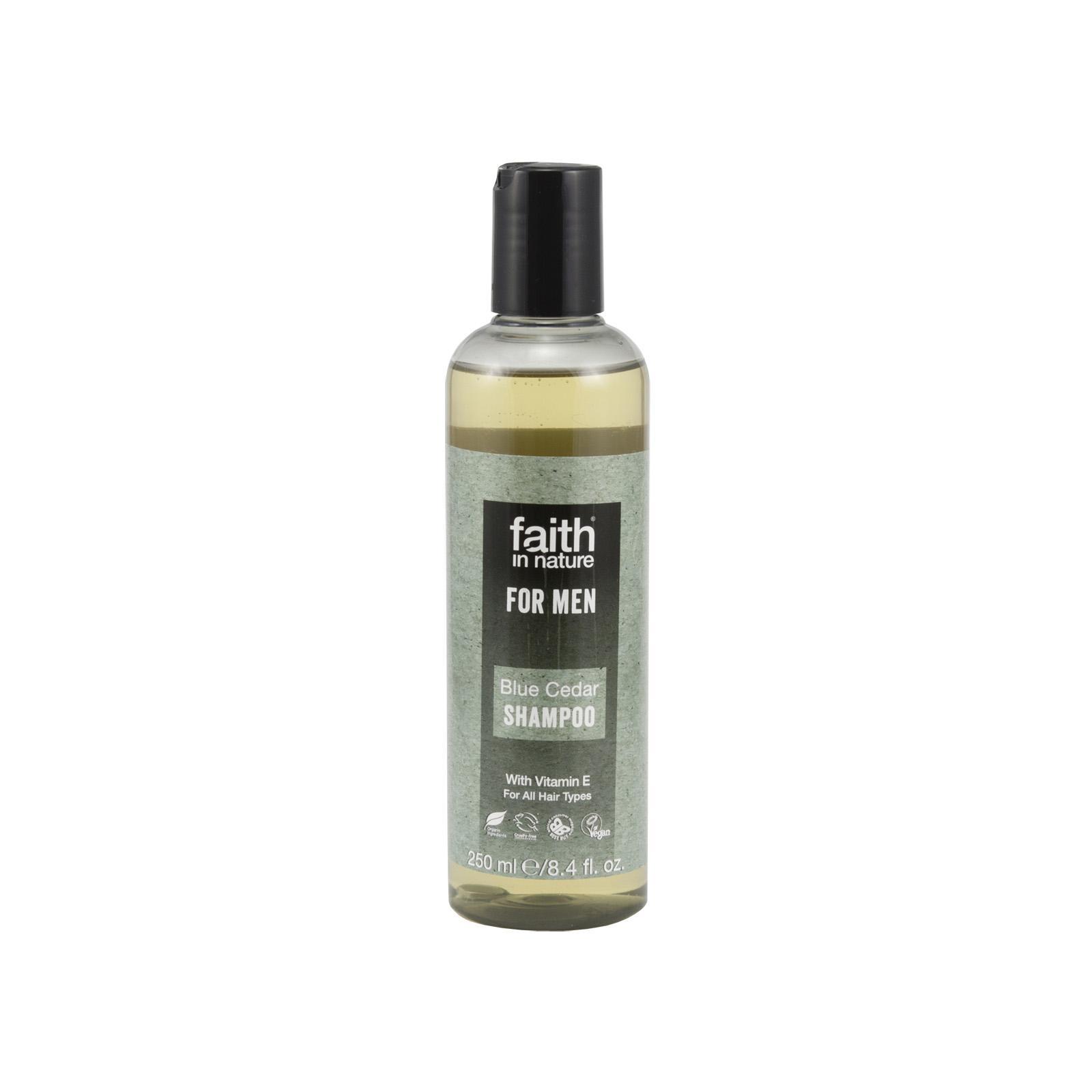 Faith in Nature Šampon modrý cedr, Faith for men 250 ml